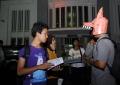 Kring Eeea Bagi bagi komik di parallel event Biennale Jogja XI