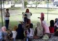 Pelangi Jilbab, kembang setaman festival equator Biennale Jogja XI