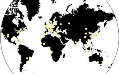 biennial map, world view. sumber, worldbiennialforum.org