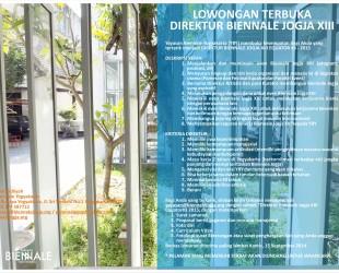 Poster Lowongan direktur BJ XIII.